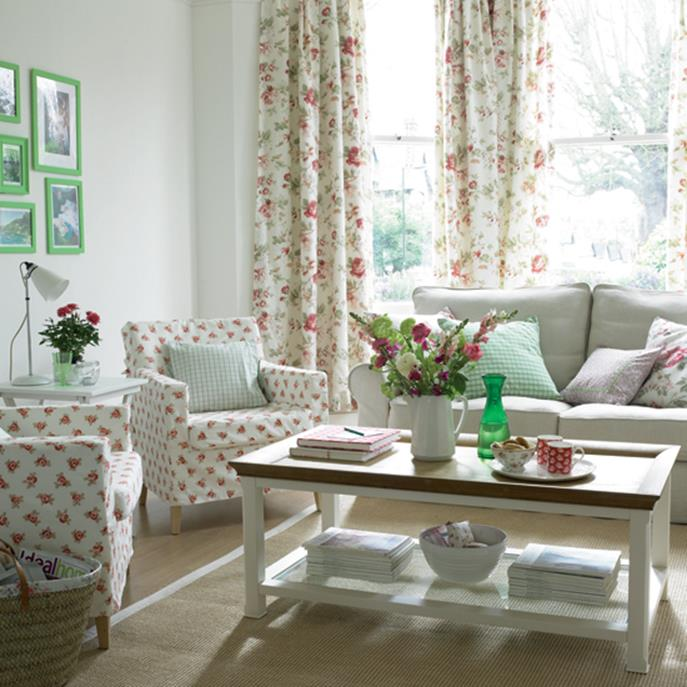 Country Style Living Room Decorating Ideas 13