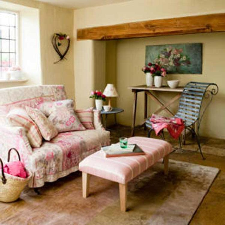 Country Style Living Room Decorating Ideas 34