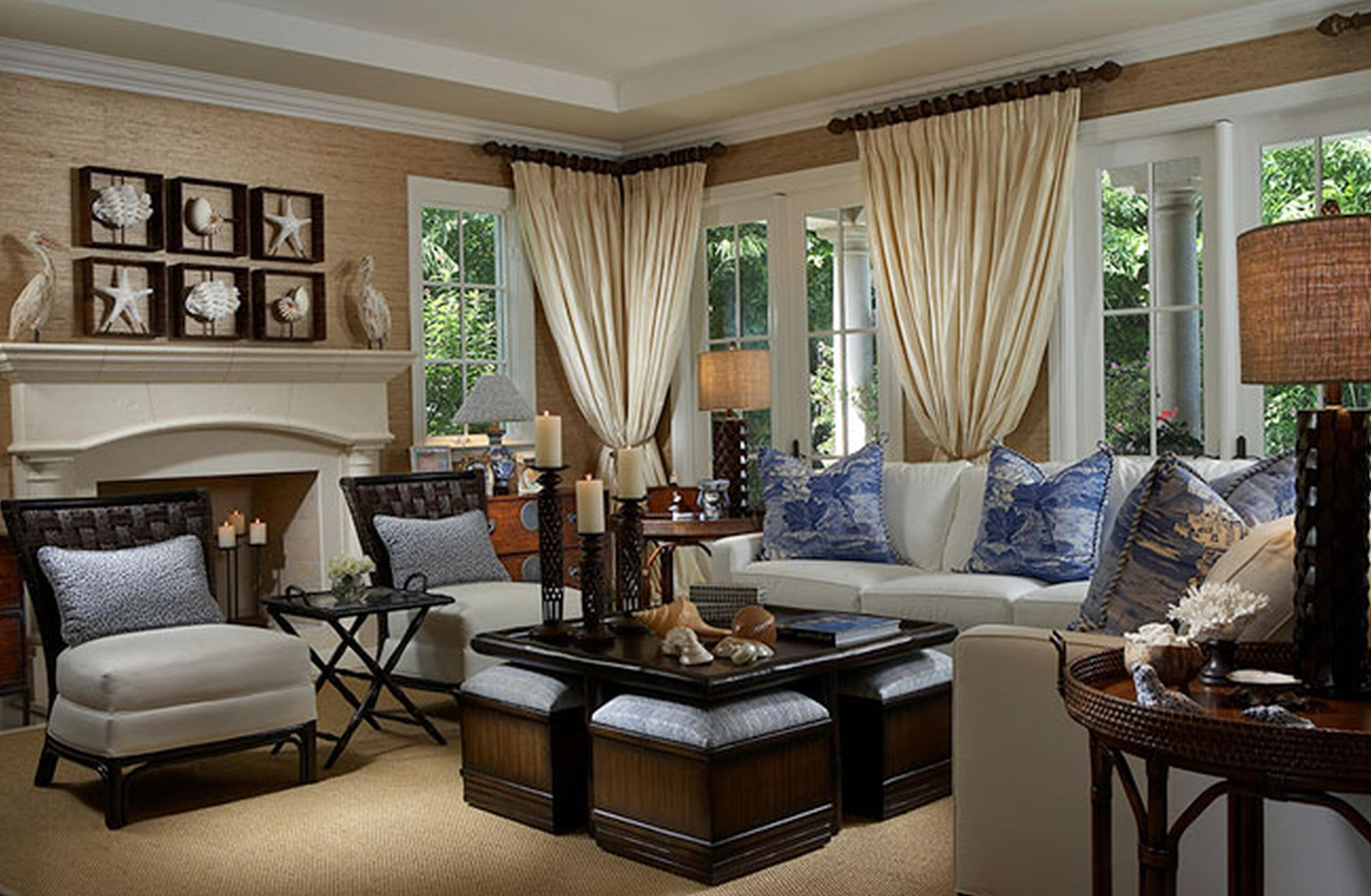 Country Style Living Room Decorating Ideas 36