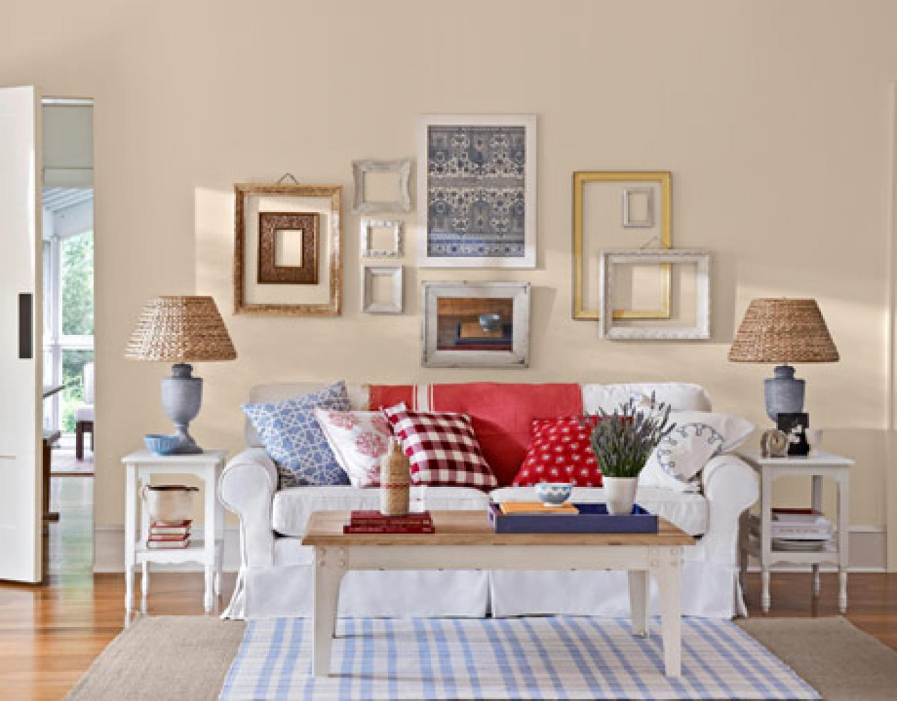 Country Style Living Room Decorating Ideas 38