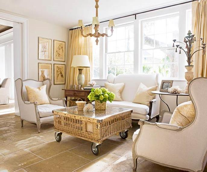 Country Style Living Room Decorating Ideas 5