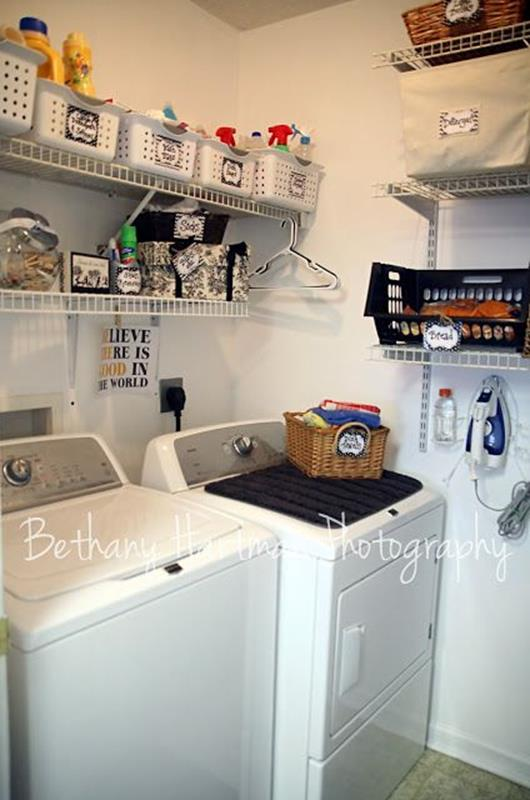 Decorating A Laundry Room On A Budget 1