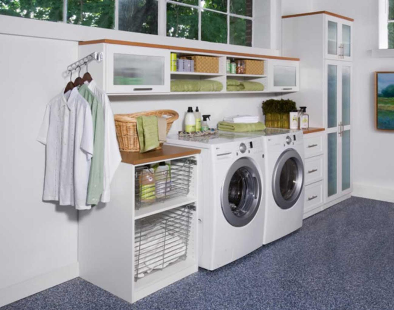 Decorating A Laundry Room On A Budget 12
