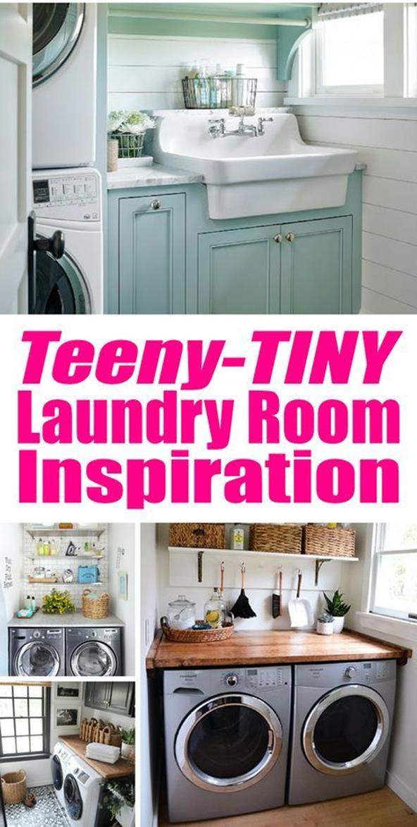 Decorating A Laundry Room On A Budget 15