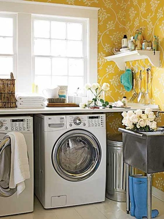 Decorating A Laundry Room On A Budget 20