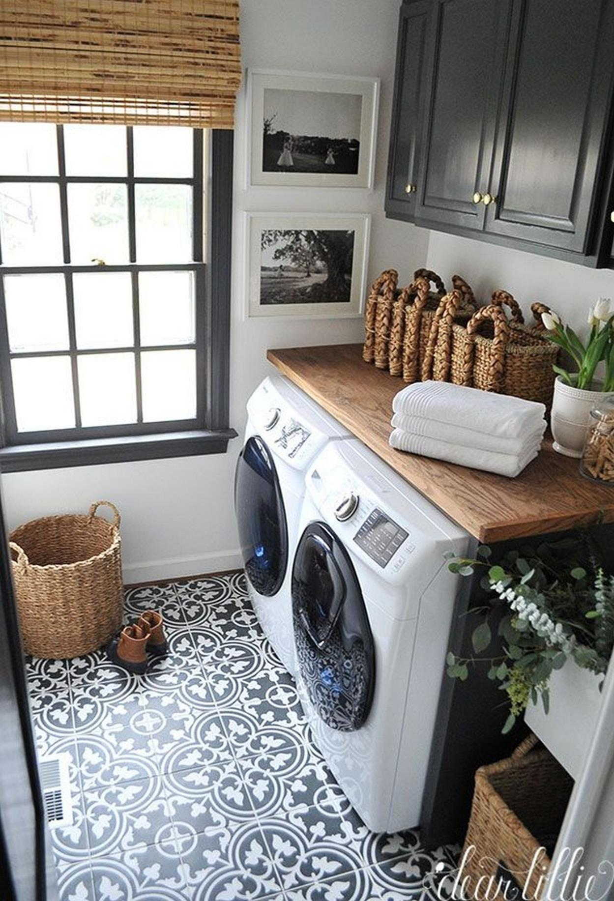 Decorating A Laundry Room On A Budget 27