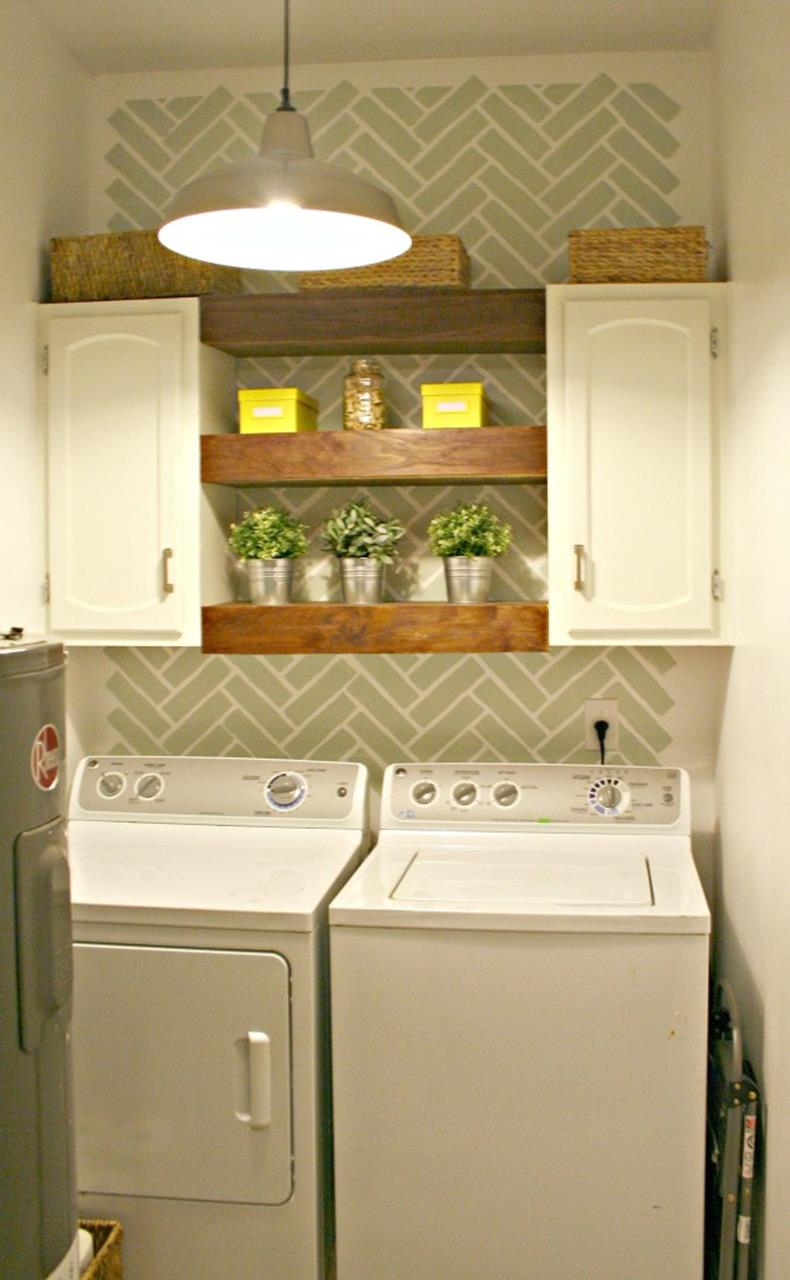 Decorating A Laundry Room On A Budget 7