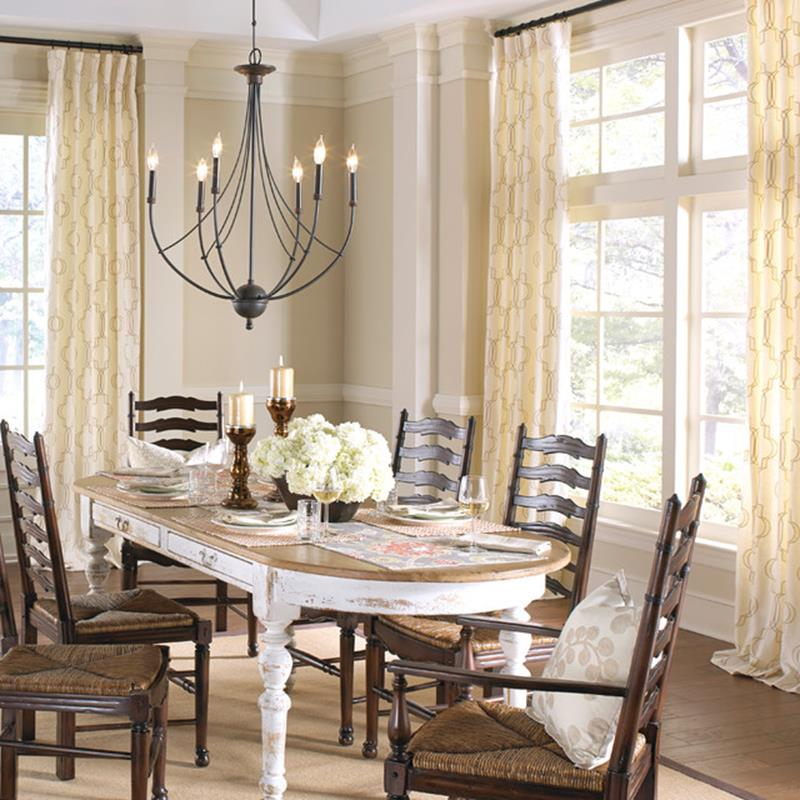 Farmhouse Dining Room Decorating Ideas 21
