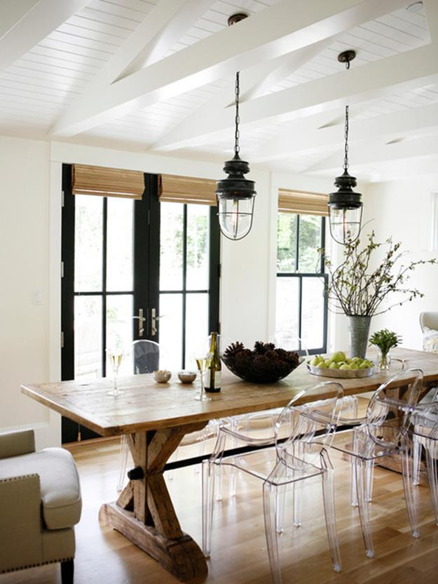 Farmhouse Dining Room Decorating Ideas 26