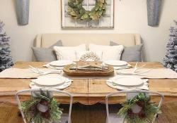 Farmhouse Dining Room Decorating Ideas 27