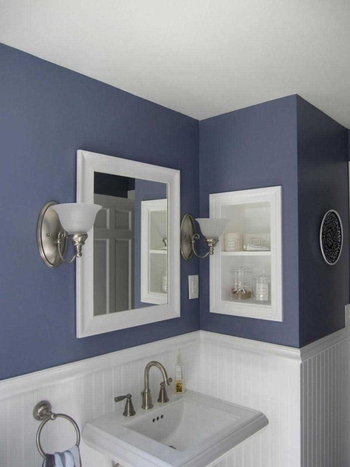 Gray Half Bathroom Decorating Ideas On A Budget 28