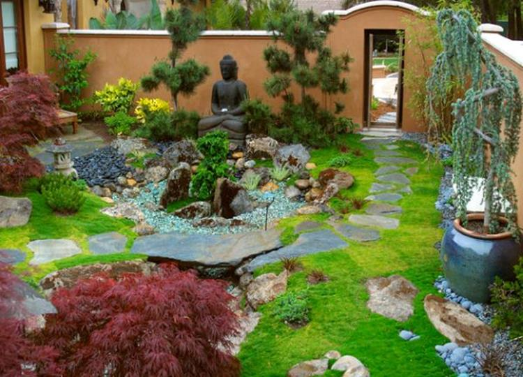 Japanese Style Garden Design Ideas 17