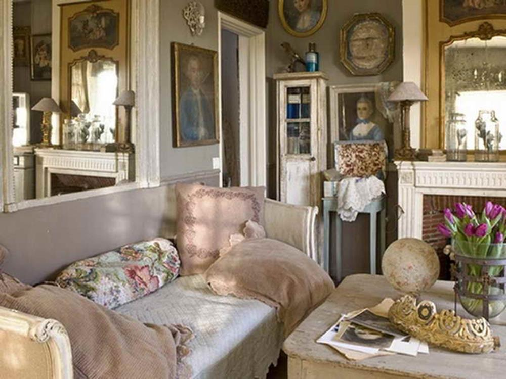 Shabby Chic French Country Decorating Ideas 36