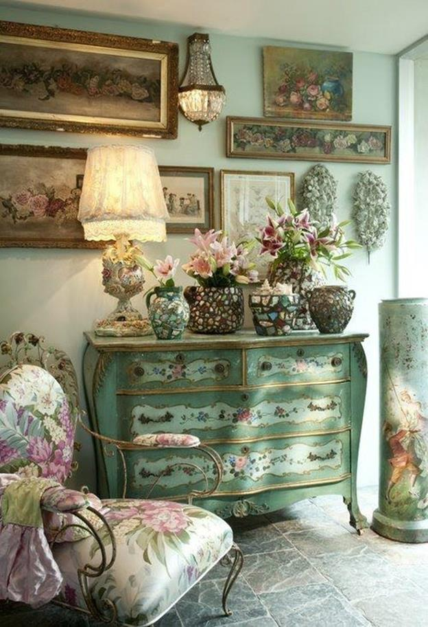 Shabby Chic French Country Decorating Ideas 41