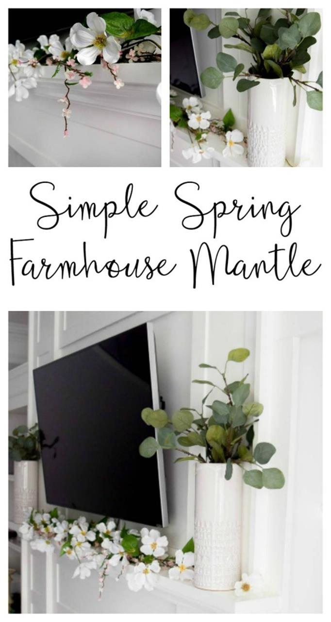 Spring Farmhouse Decorating Ideas 36