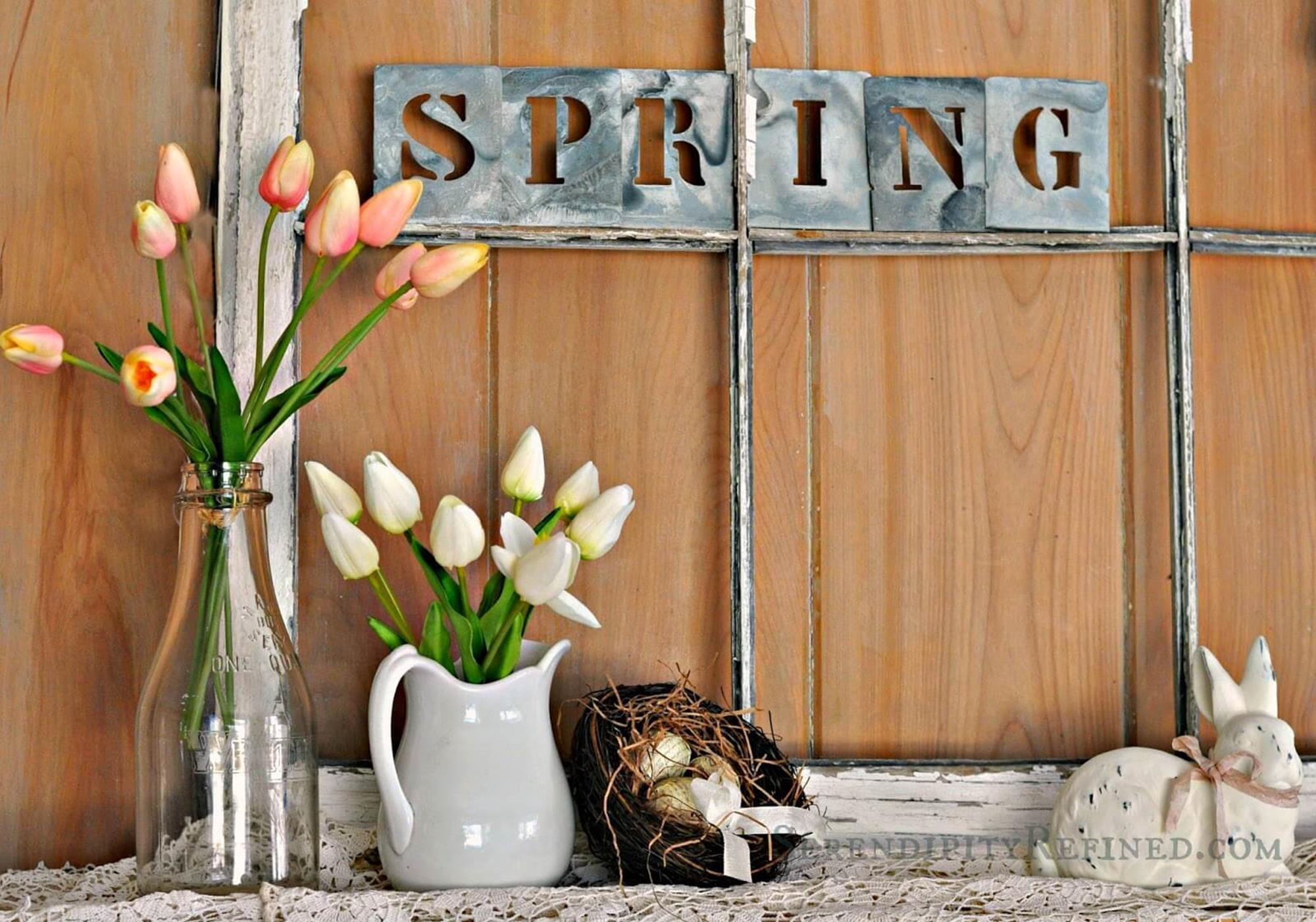 Spring Farmhouse Decorating Ideas 6