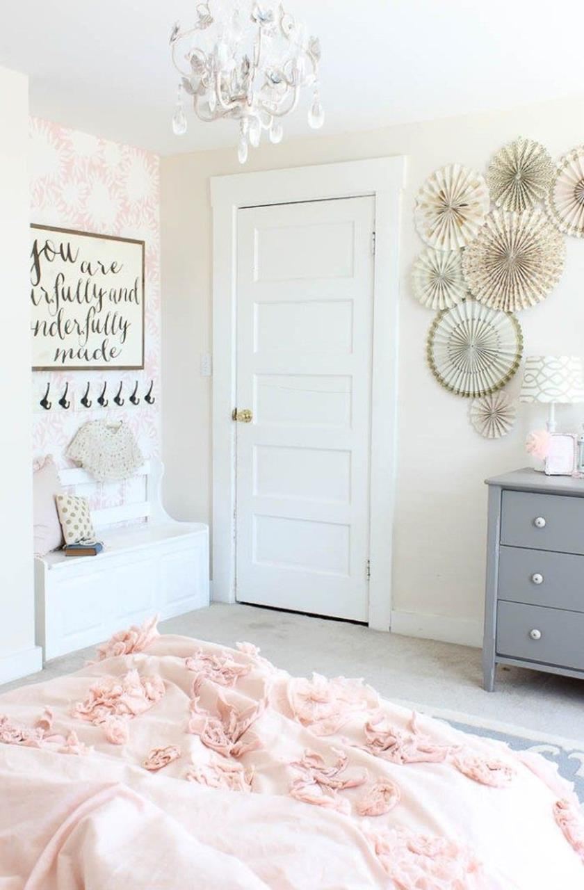 Vintage Girl Bedroom Decorating Ideas 10