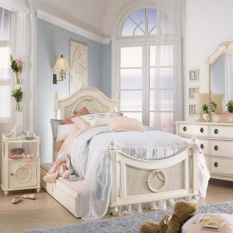 Vintage Girl Bedroom Decorating Ideas 13