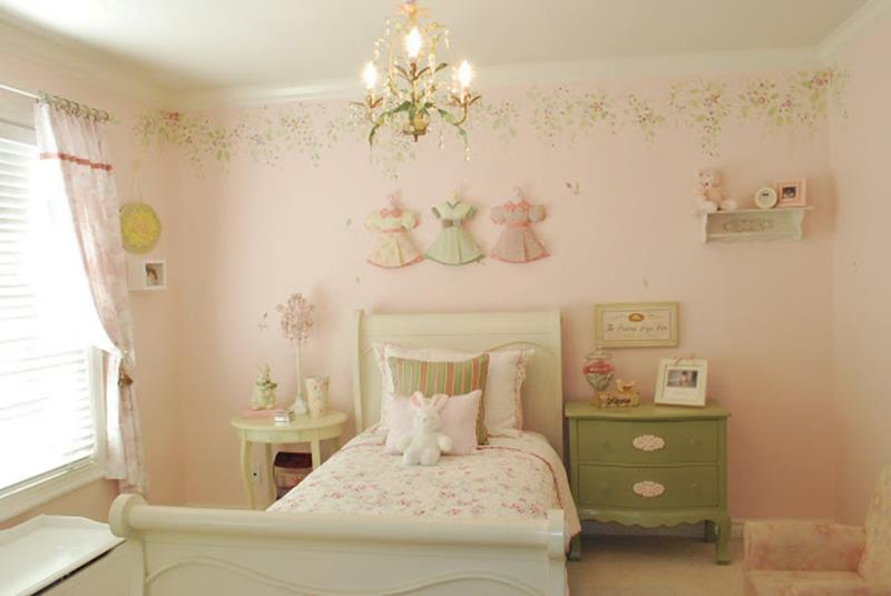 Vintage Girl Bedroom Decorating Ideas 21