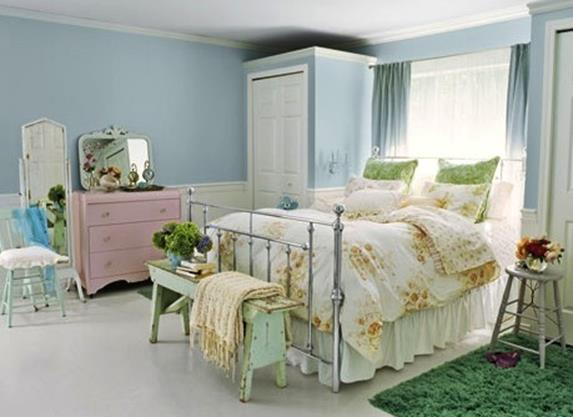 Vintage Girl Bedroom Decorating Ideas 8