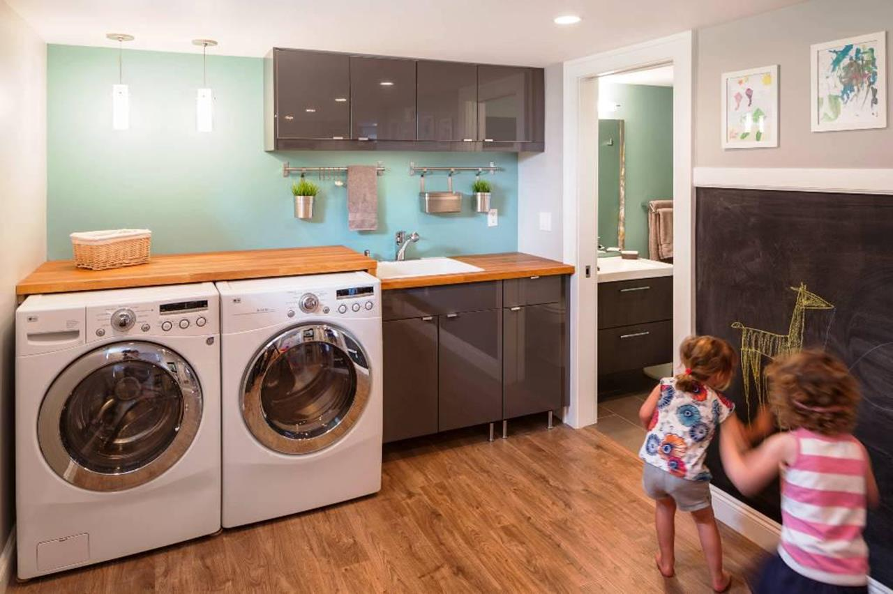 Best Cheap IKEA Cabinets Laundry Room Storage Ideas 12