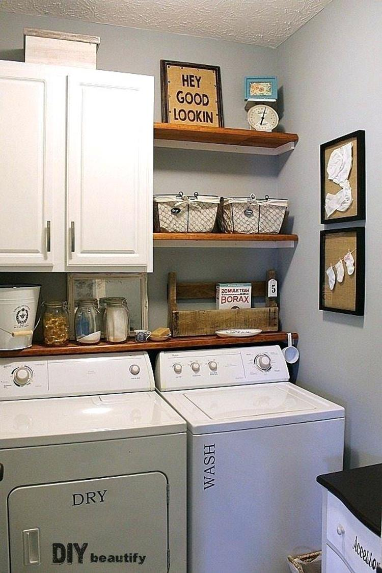 Best Cheap IKEA Cabinets Laundry Room Storage Ideas 25
