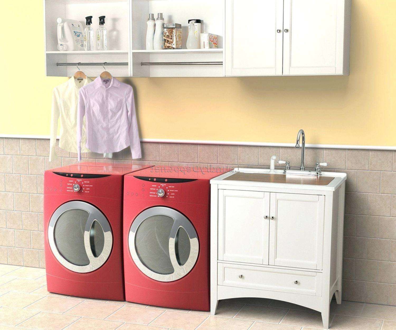 Best Cheap IKEA Cabinets Laundry Room Storage Ideas 34