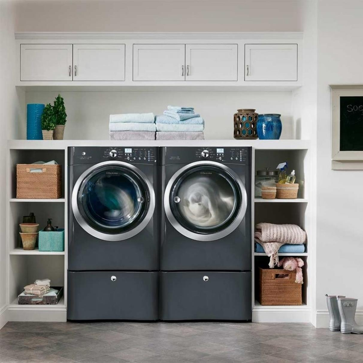 Best Cheap IKEA Cabinets Laundry Room Storage Ideas 36