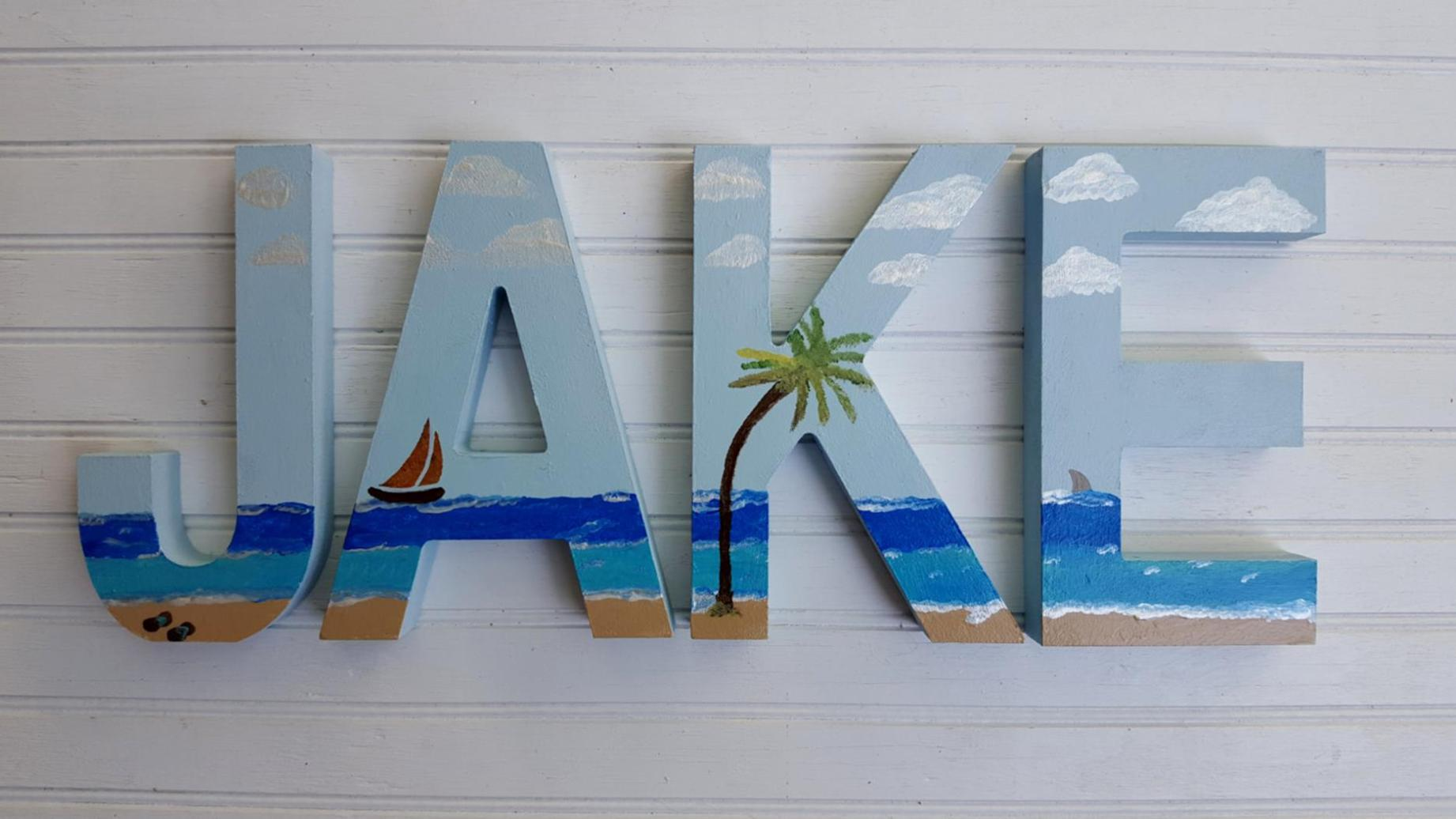 DIY Gorgeous Beach Themed Wall Decorating Ideas 11