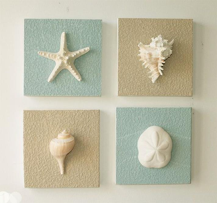 DIY Gorgeous Beach Themed Wall Decorating Ideas 23