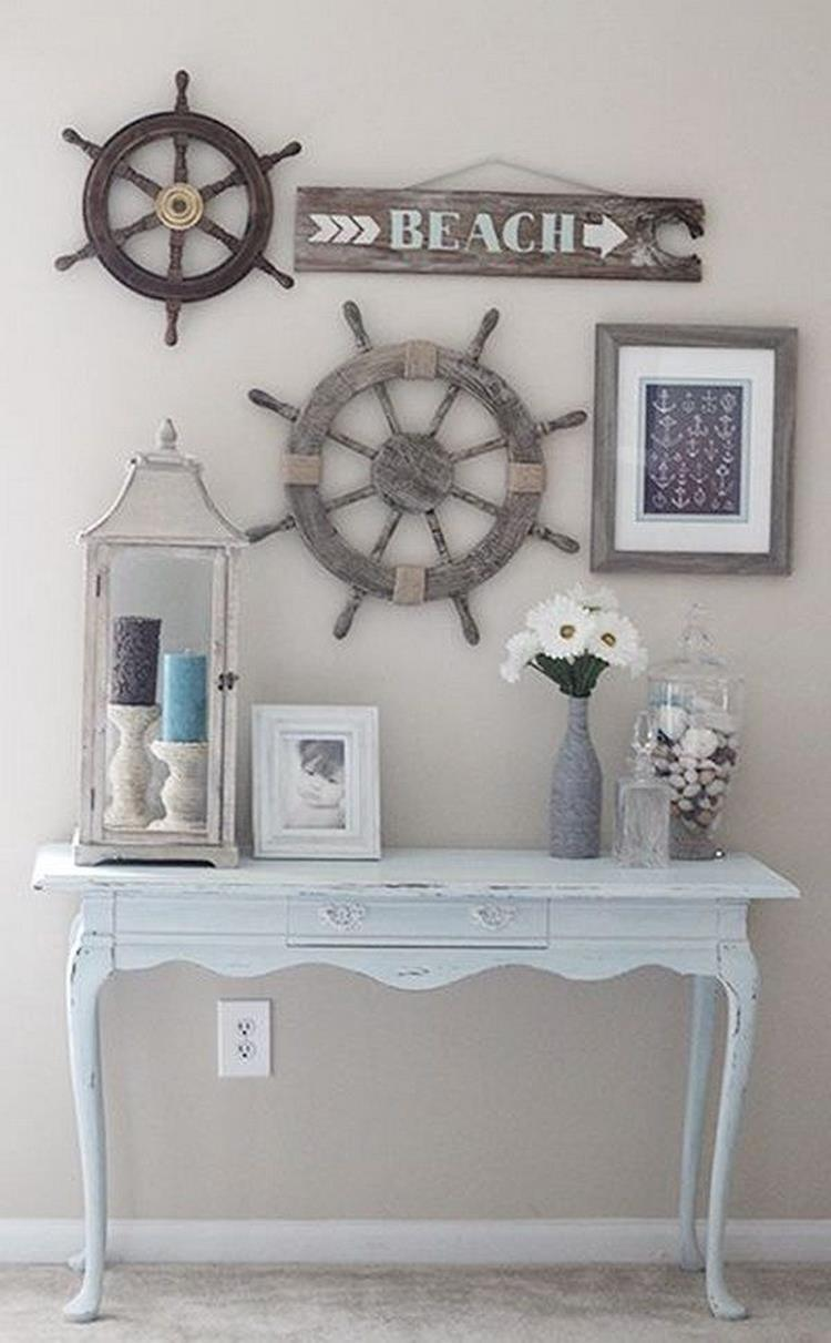 DIY Gorgeous Beach Themed Wall Decorating Ideas 25