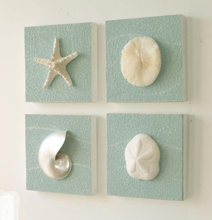 DIY Gorgeous Beach Themed Wall Decorating Ideas 4