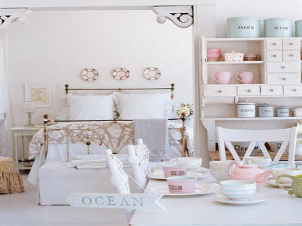 Gorgeous Shabby Chic Apartment Decorating Ideas 38