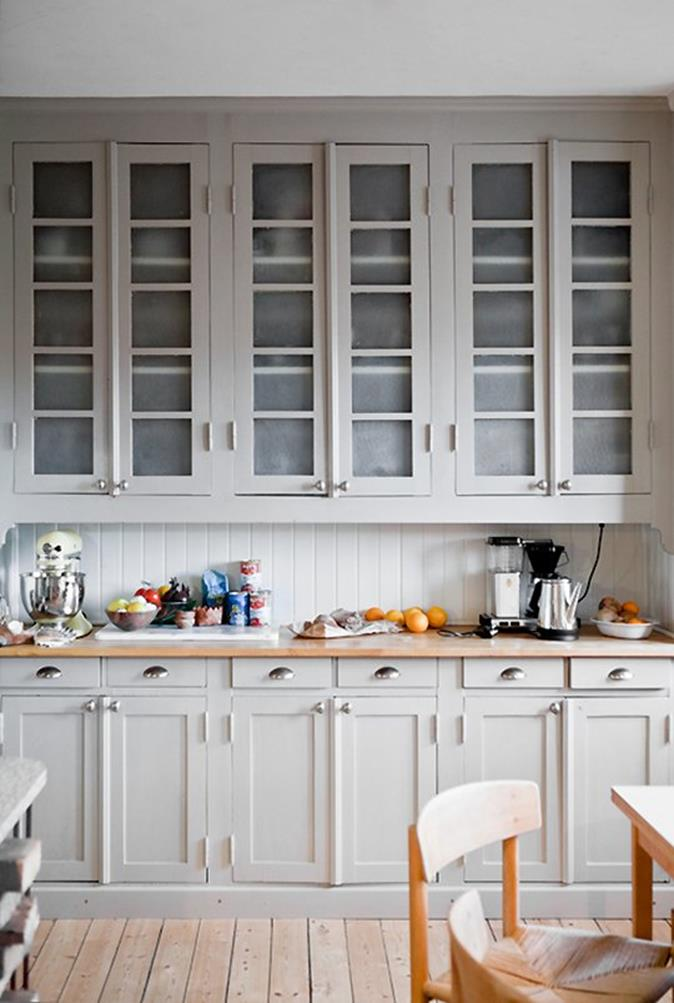 Light Grey Kitchen Cabinets Ideas 11
