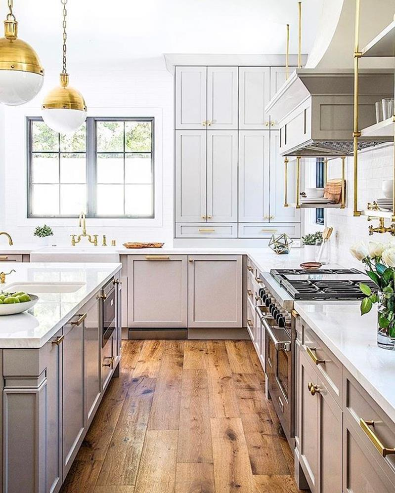 Light Grey Kitchen Cabinets Ideas 18