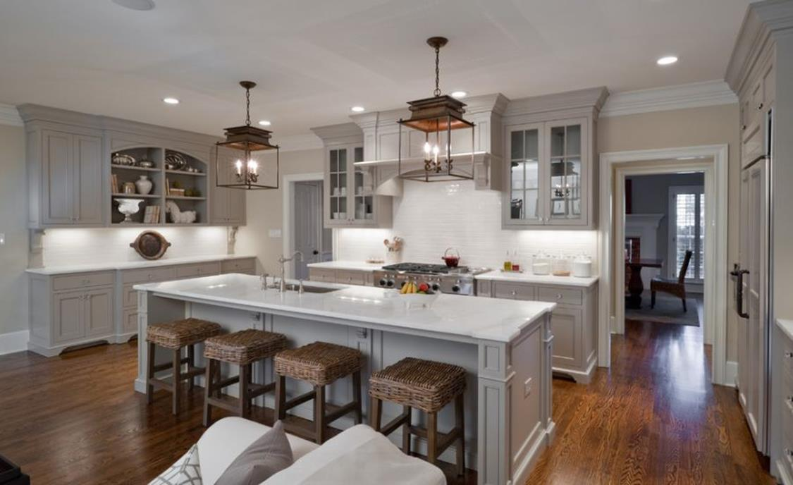 Light Grey Kitchen Cabinets Ideas 47