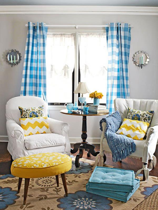 Yellow Cottage Living Room Decorating Ideas 10
