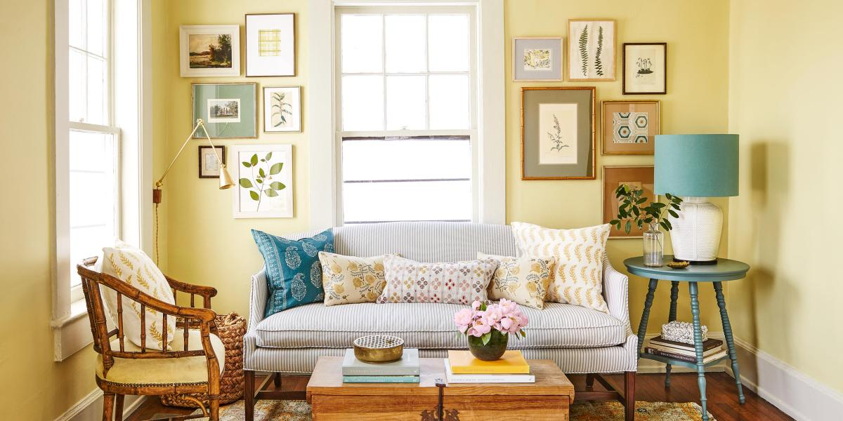 Yellow Cottage Living Room Decorating Ideas 21