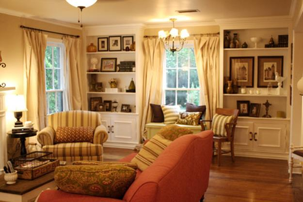 Yellow Cottage Living Room Decorating Ideas 32