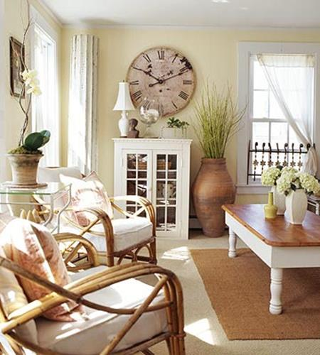 Yellow Cottage Living Room Decorating Ideas 34