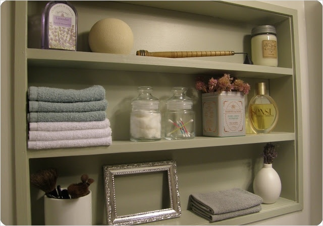 Bathroom Shelves Decorating Ideas 16 17 Best Images About Recessed Shelves On Pinterest 1