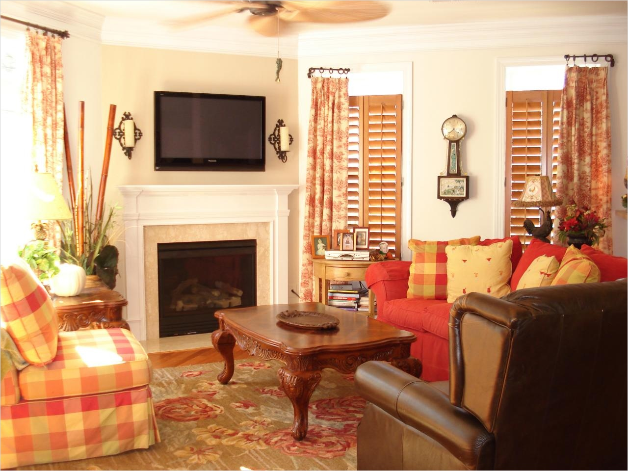 45 Amazing Ideas Country Chic Living Room 16 Country Style Living Room 1