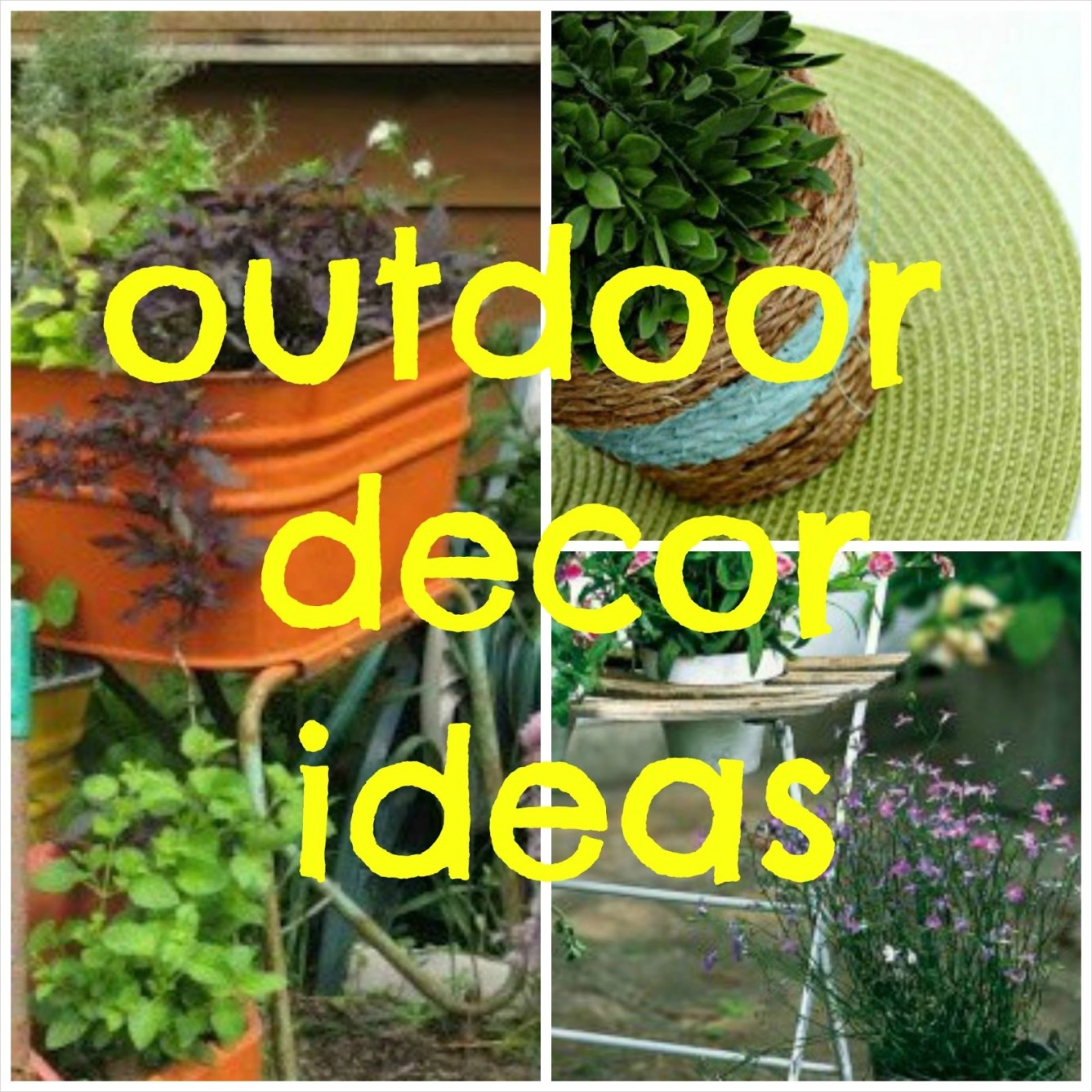 42 Amazing Ideas Country Garden Decor 86 A Few Pretty Things Outdoor Decor Ideas 4