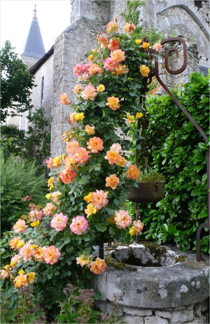 42 Amazing Ideas Country Garden Decor 33 French Country Gardens 1