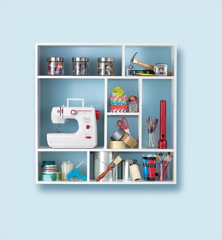 Craft Room Wall Decor 16 Sewing Room Wall Art Storage Home Craft Room 7