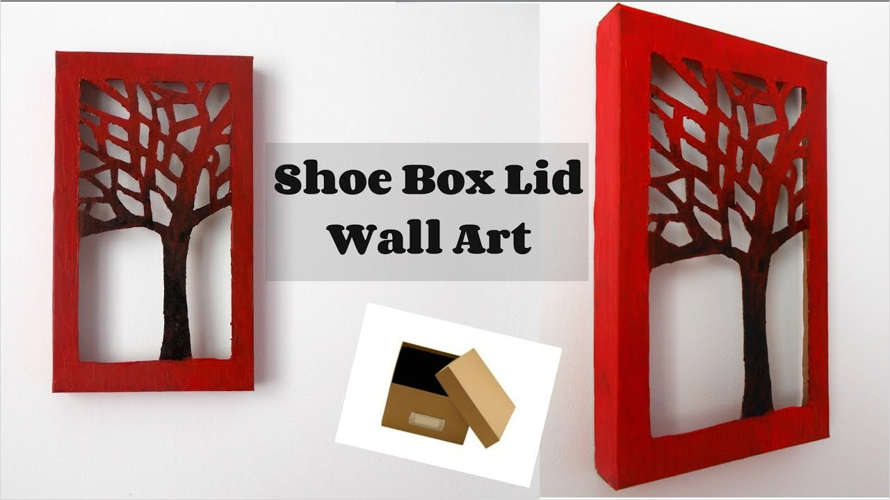 Craft Room Wall Decor 56 Diy Room Decor Shoe Box Lid Wall Art Wall Decor Diy Crafts Diy Paper Crafts 2