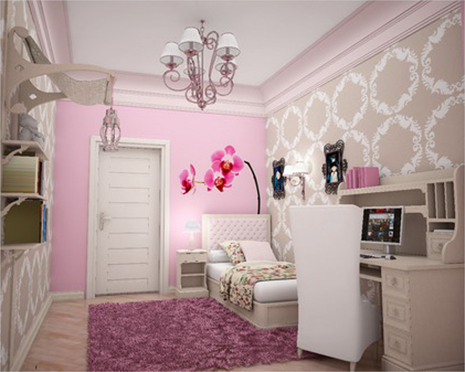 41 Amazing Dream Bedrooms for Teenage Girls 22 Dream Bedroom for Teenage Girls Tumblr Home Bo 5