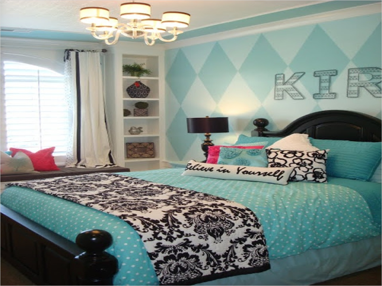 41 Amazing Dream Bedrooms for Teenage Girls 27 Tiffany Blue Bedroom Ideas Dream Bedrooms for Teenage Girls Cute Teenage Girl Room Ideas 6