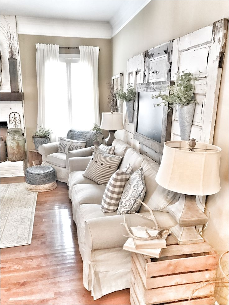 Farmhouse Chic Decorating Ideas 89 27 Rustic Farmhouse Living Room Decor Ideas for Your Home Homelovr 2