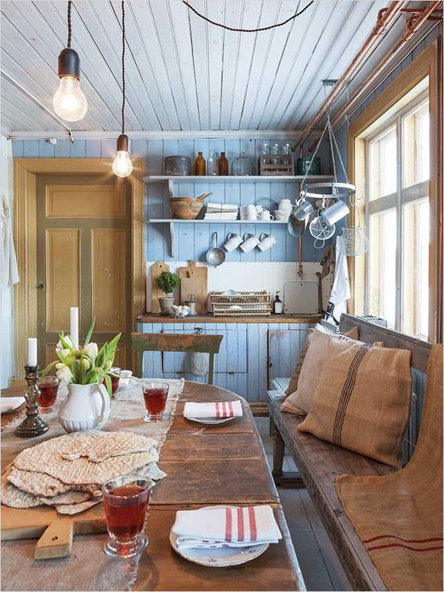 Farmhouse Chic Decorating Ideas 52 31 Cozy and Chic Farmhouse Kitchen Décor Ideas 8
